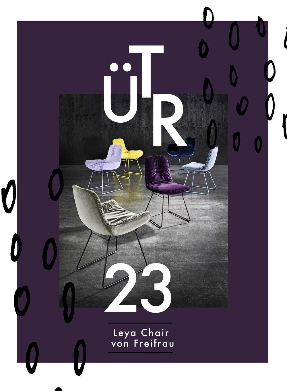 Tür 23: Leya Chair von Freifrau