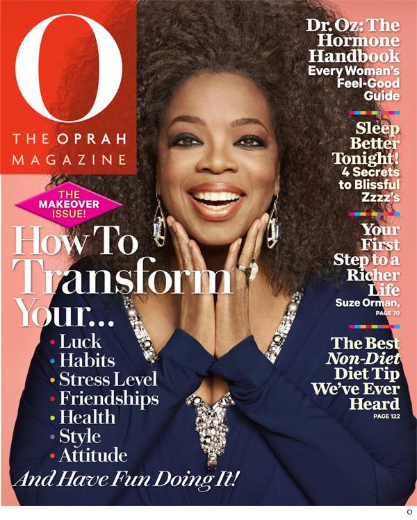 Oprah copying my new wavy hair.