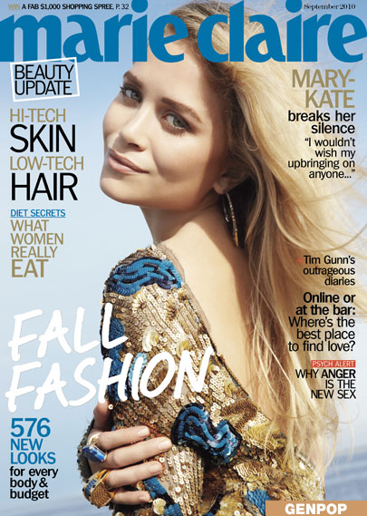 MK in september's marie claire looking purrrrty.