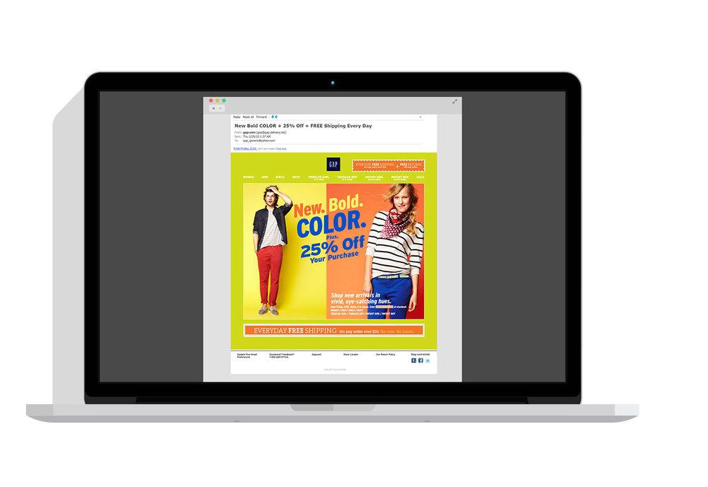 Bold Color Promo -