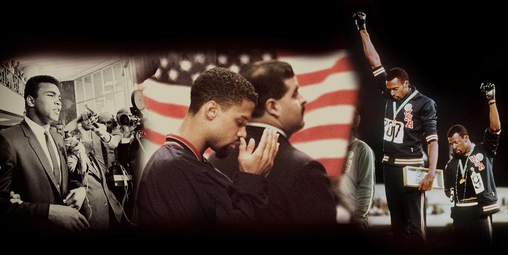 Muhammad Ali, Mahmoud Abdul-Rauf,Tommie Smith & John Carlos