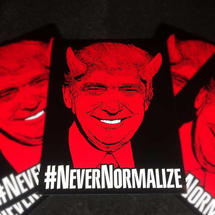 #NeverNormalize sticker