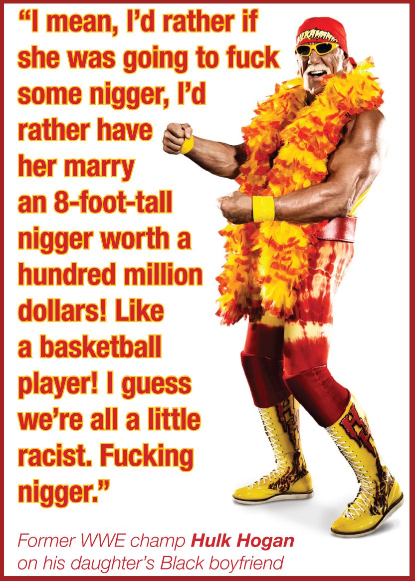 Hulk Hogan - nigger