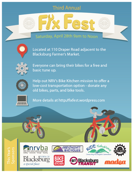Poster for 3rd Annual Fix Fest