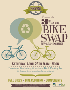 Poster for NRVBA Bike Swap