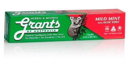 Grants Herbal & Mineral Toothpaste
