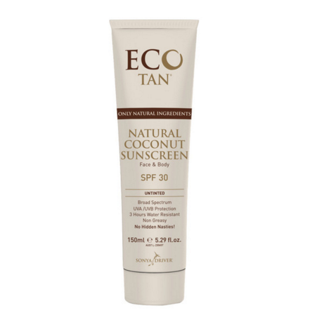 ECO TAN NATURAL COCONUT SUNCREEN