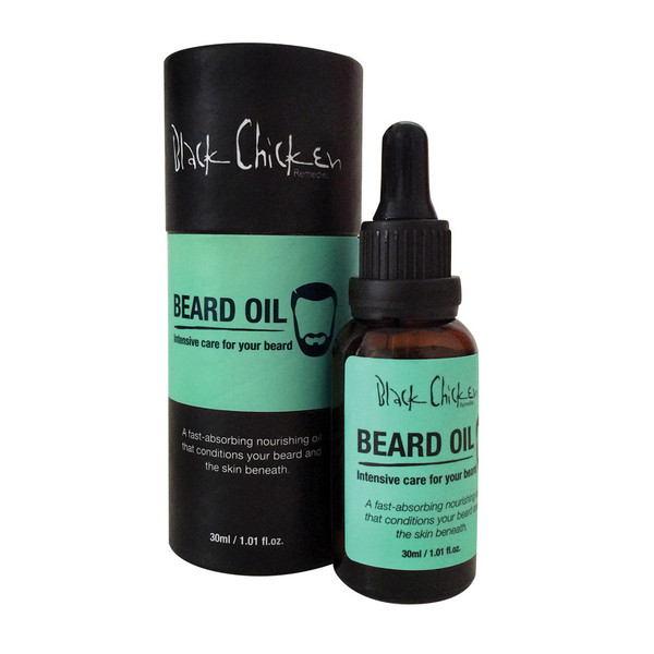 BLACK CHICKEN BEARD OIL