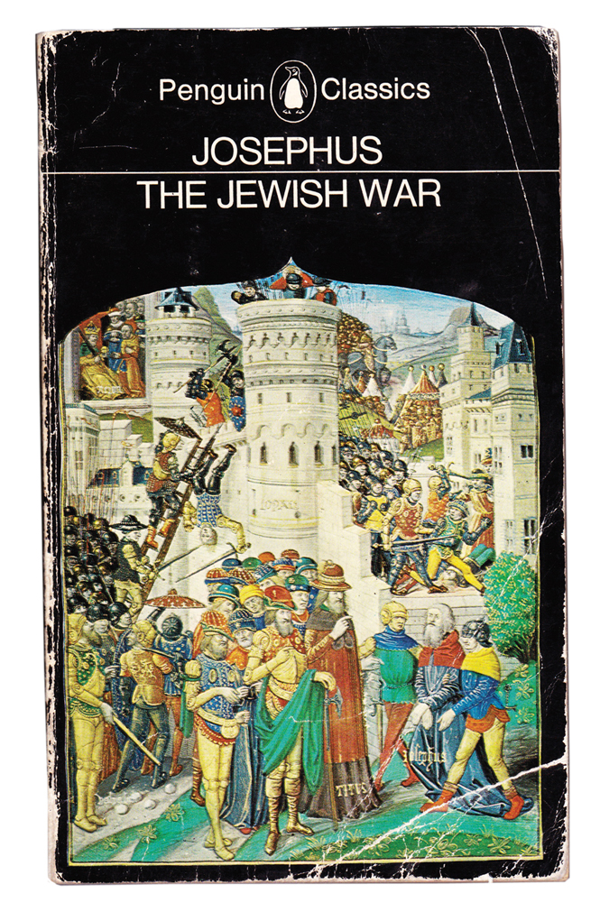Article 0301: Copy of Josephus' The Jewish War