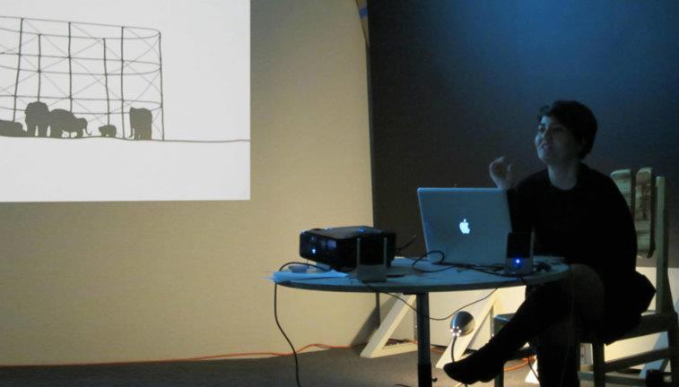 Artist talk by Marcia Vaitsman, 2012