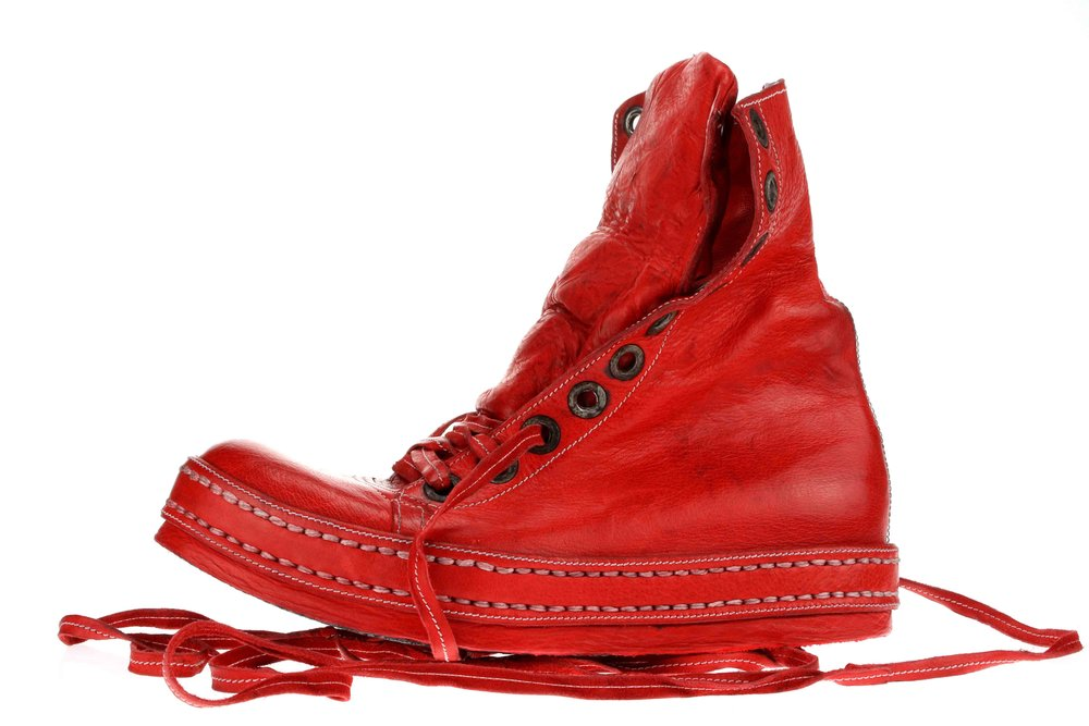 Fold down Red Up laces2.JPG