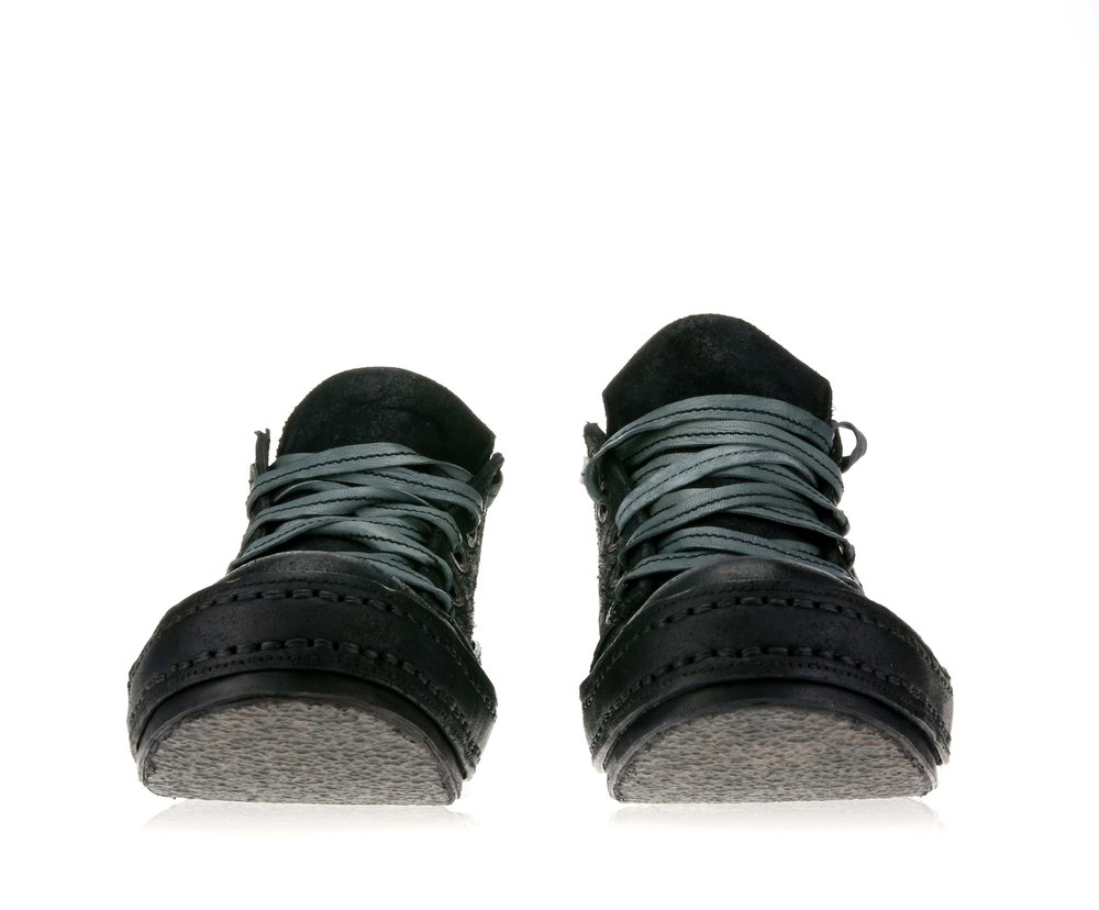 5Hole Black Suede Double front.jpg