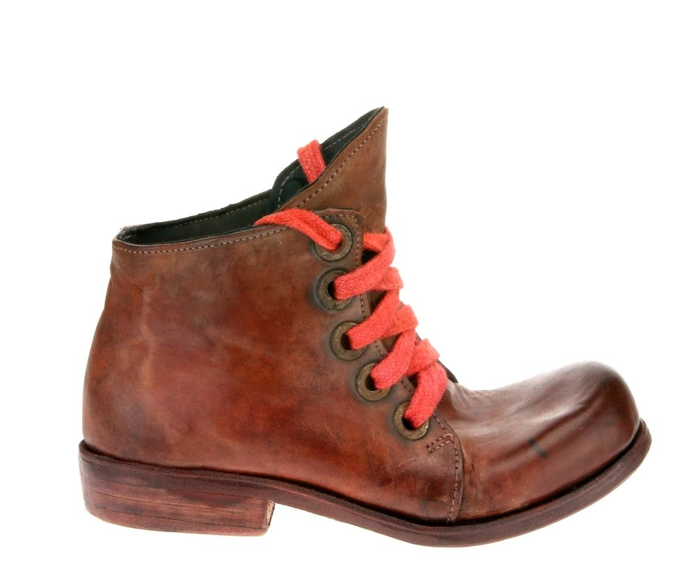 5Hole Work Boot Red
