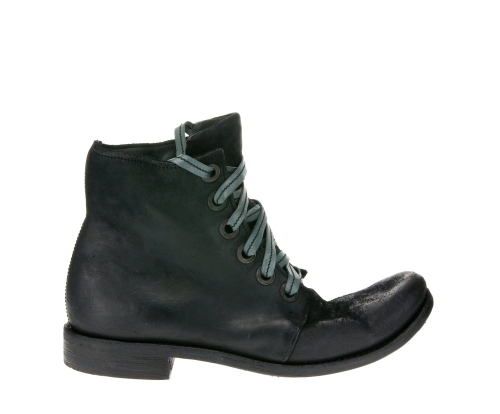 6Hole ASM Work Boot Black Suede