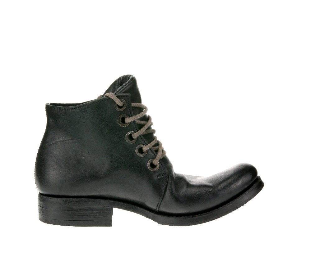 5Hole Work Boot Dark Green