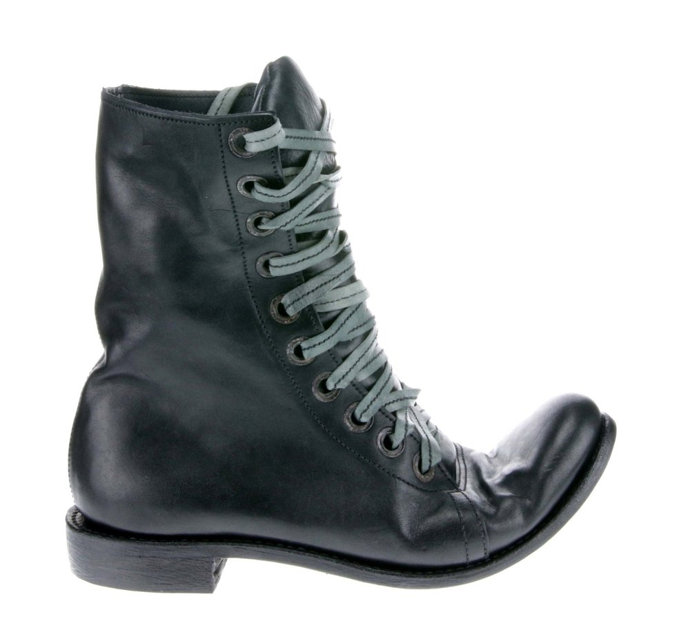 10Hole Work Boot Black
