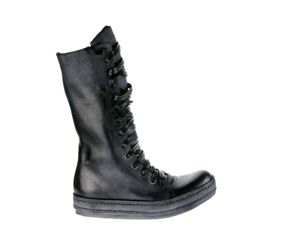 14Hole Side Zip Black Grey