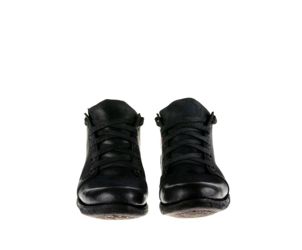 5Hole Shoe Dark Gray Cordovan Double Front.jpg