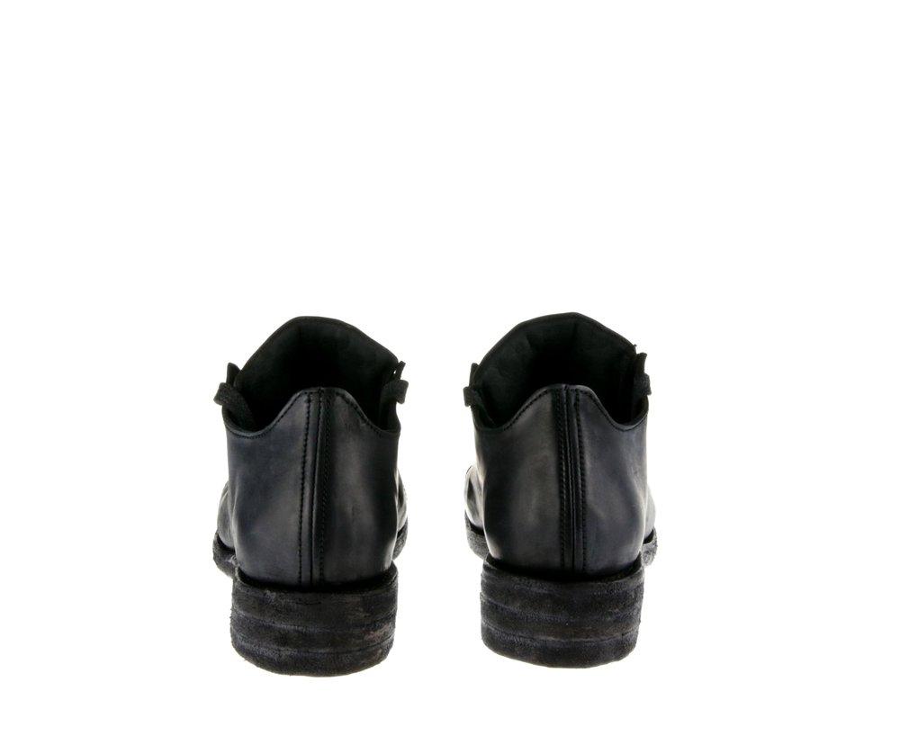 5Hole Shoe Dark Gray Cordovan Double Back.jpg