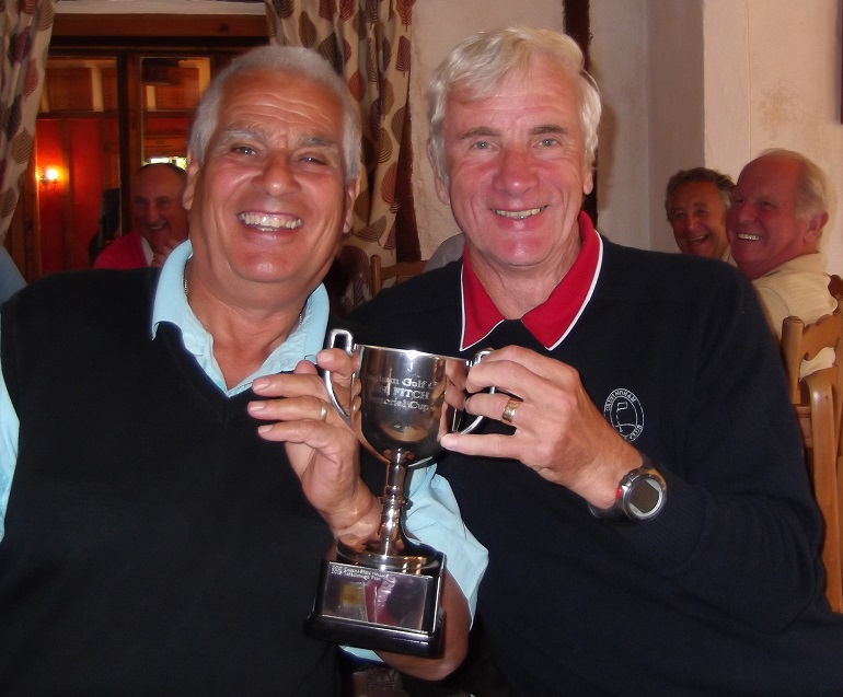 Sherman Read and Martin Fox winners of the Ron Fitch Memorial cup with a magnificent 51 points.