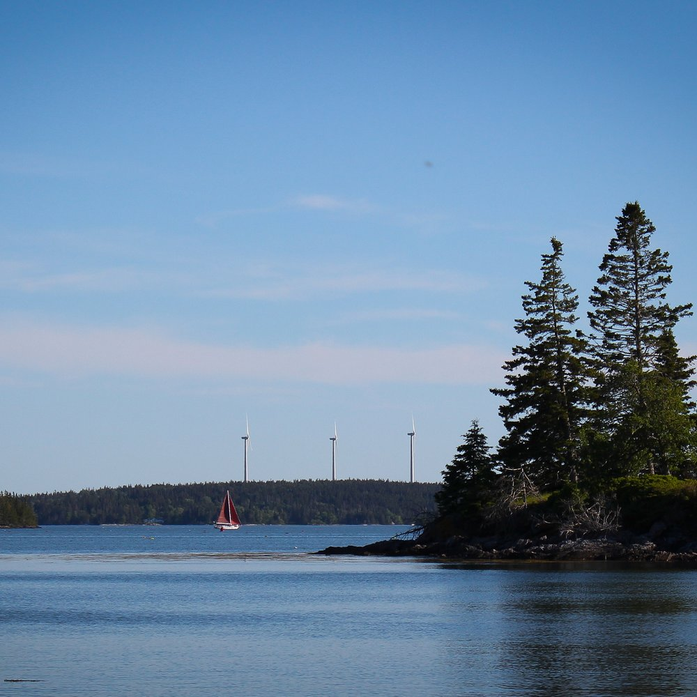 Sailing vacation Fox Islands