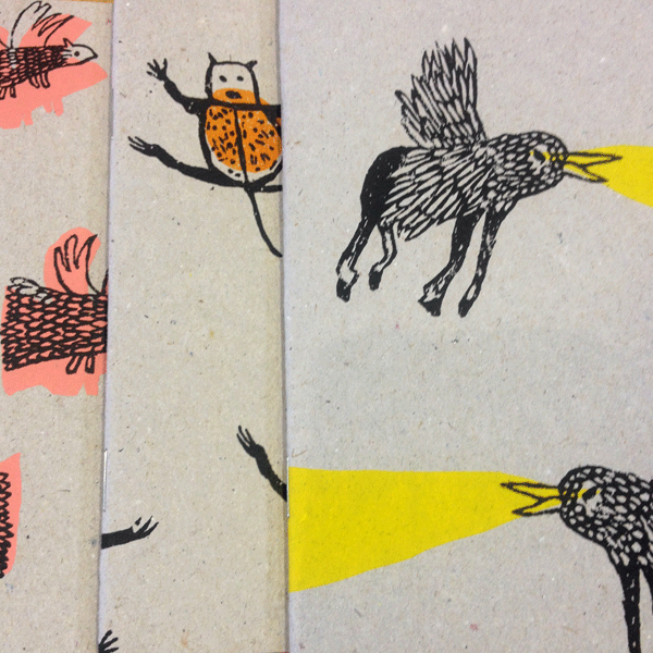 Great notebook designs from Catherine McGinniss