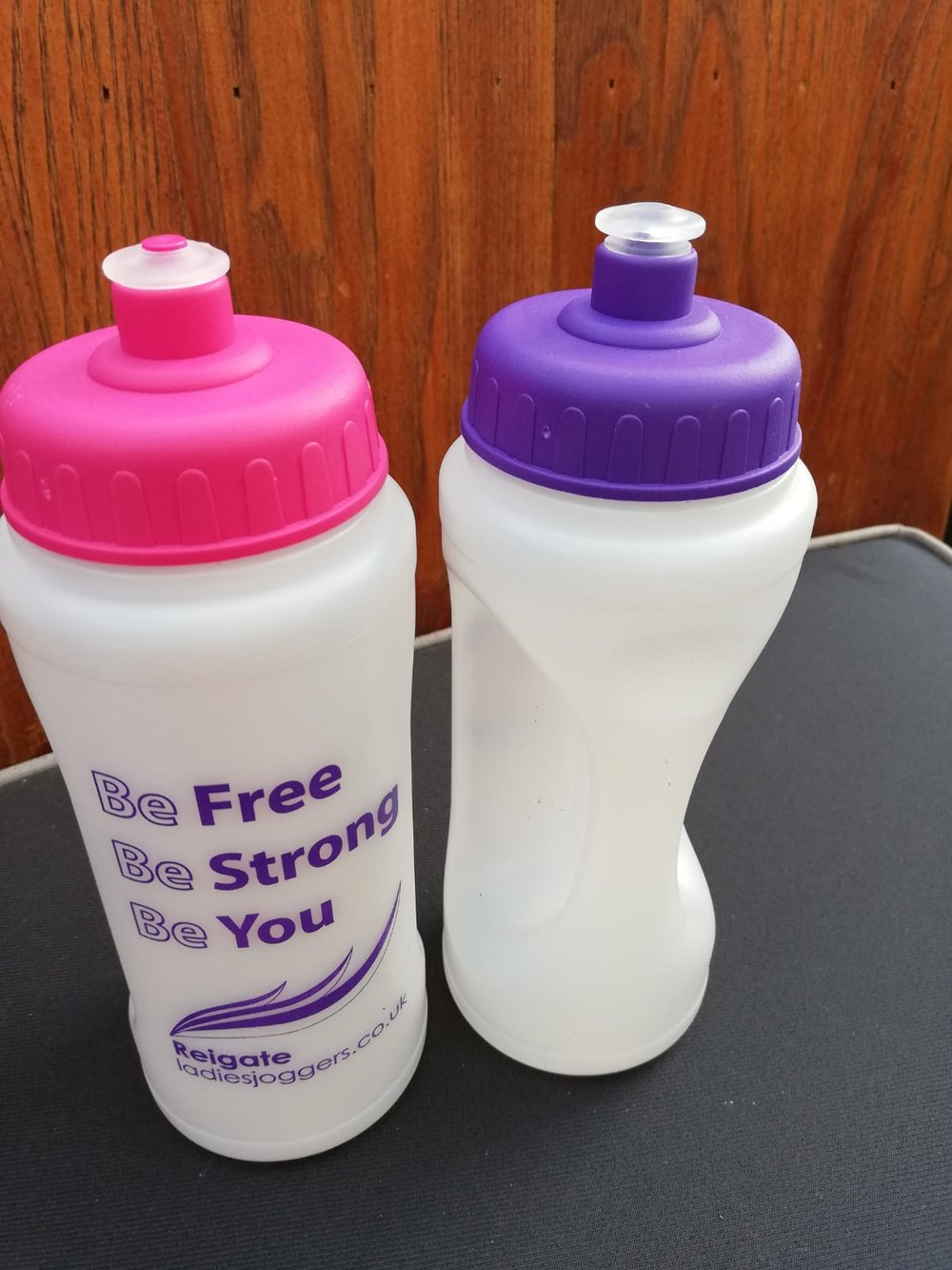 RUNNING WATER BOTTLE   THIS IS A GREAT LIGHTWEIGHT WATER BOTTLE. PERFECT SIZE TO TAKE ON ANY RUN WITH YOU AND EASY GRIP HANDLE MEANS IT WONT EFFECT YOUR RUNNING STYLE.   COST: £5