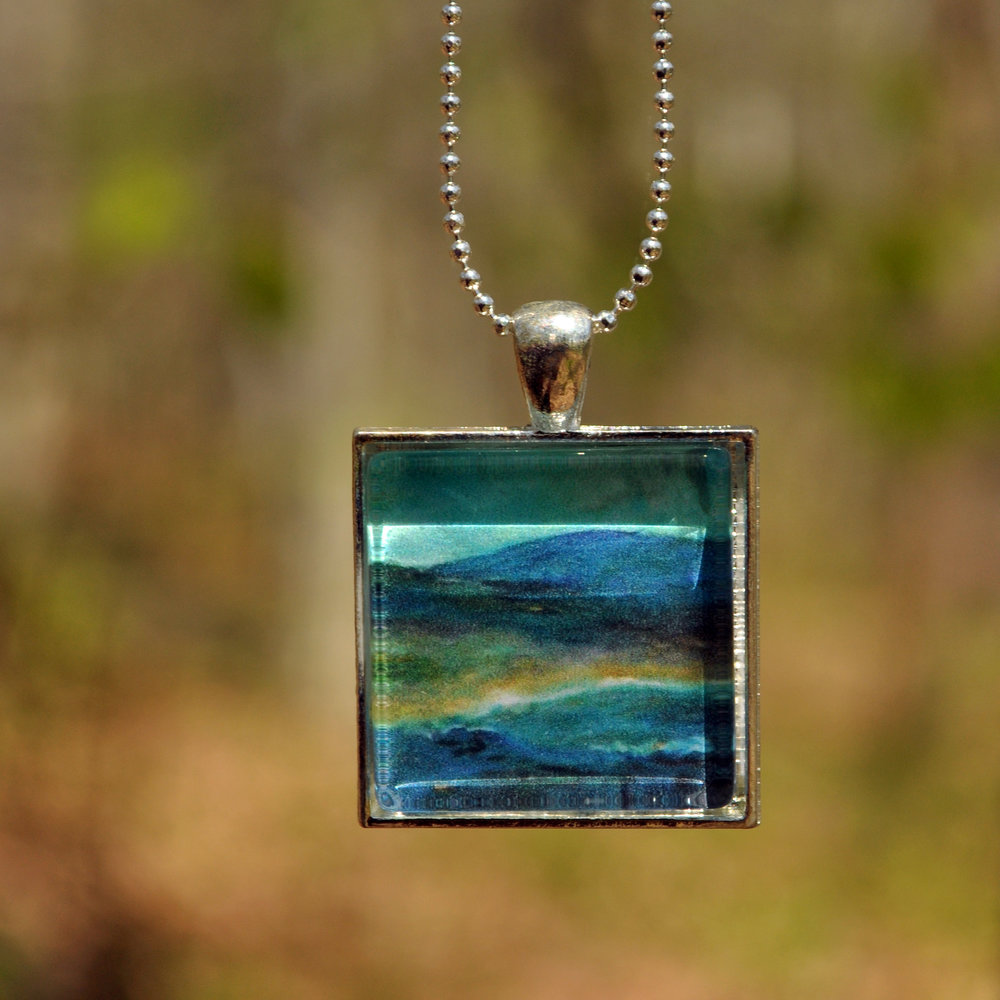 Beach 2 by Monica Hokeilen, pendant