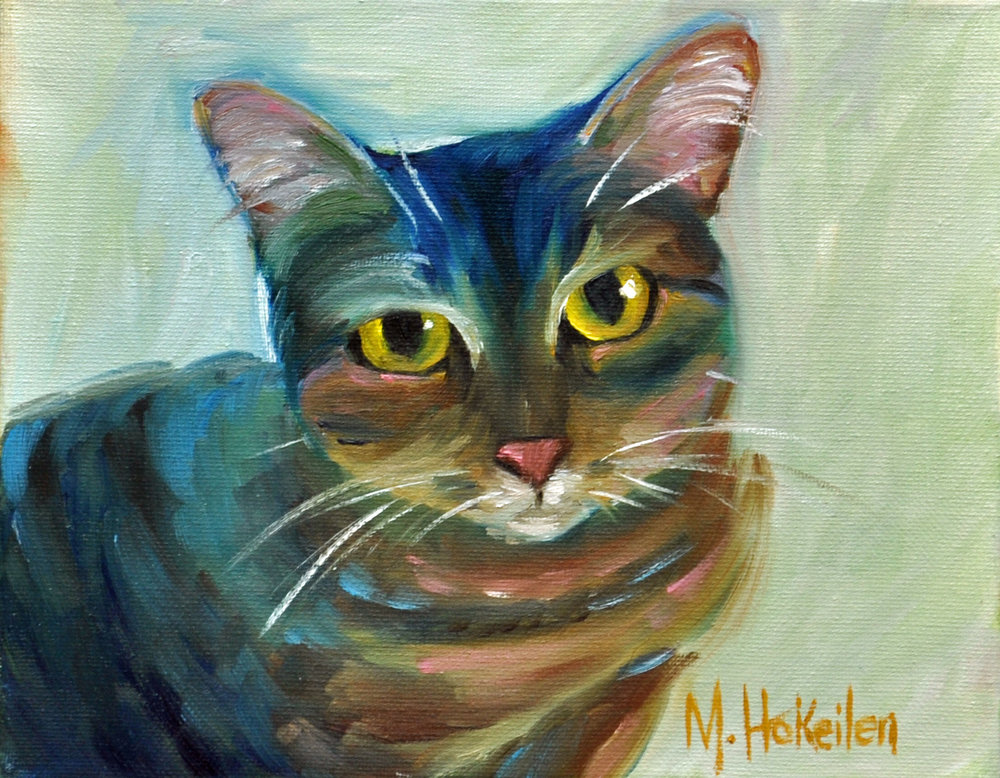 """Skylar, oil on canvas, 8""""x10"""""""