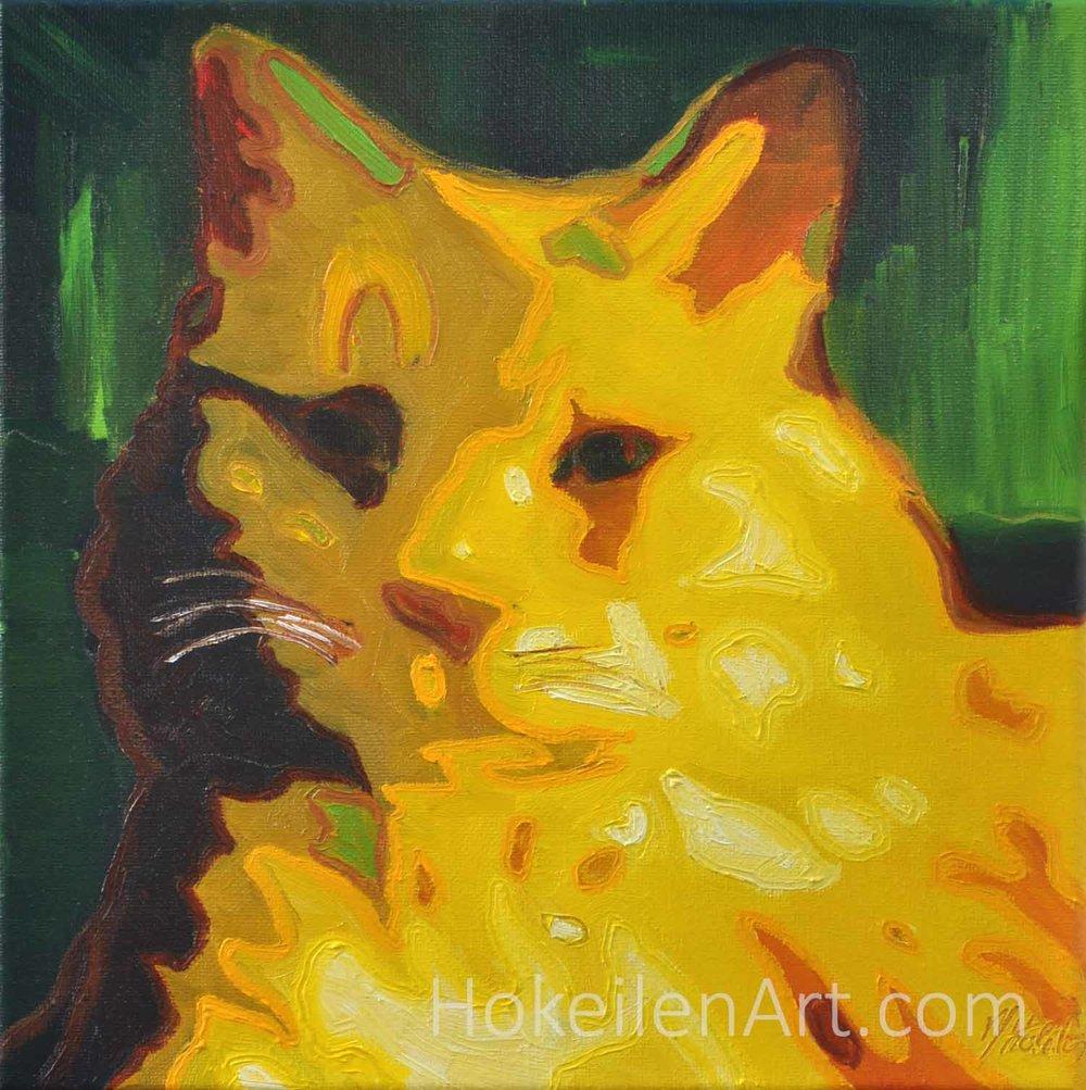 Sienna - oil on canvas, 10