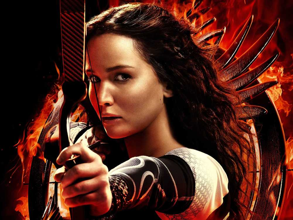 The Hunger Games  films feature a capable female protagonist in the main role (Jennifer Lawrence) and have been highly profitable
