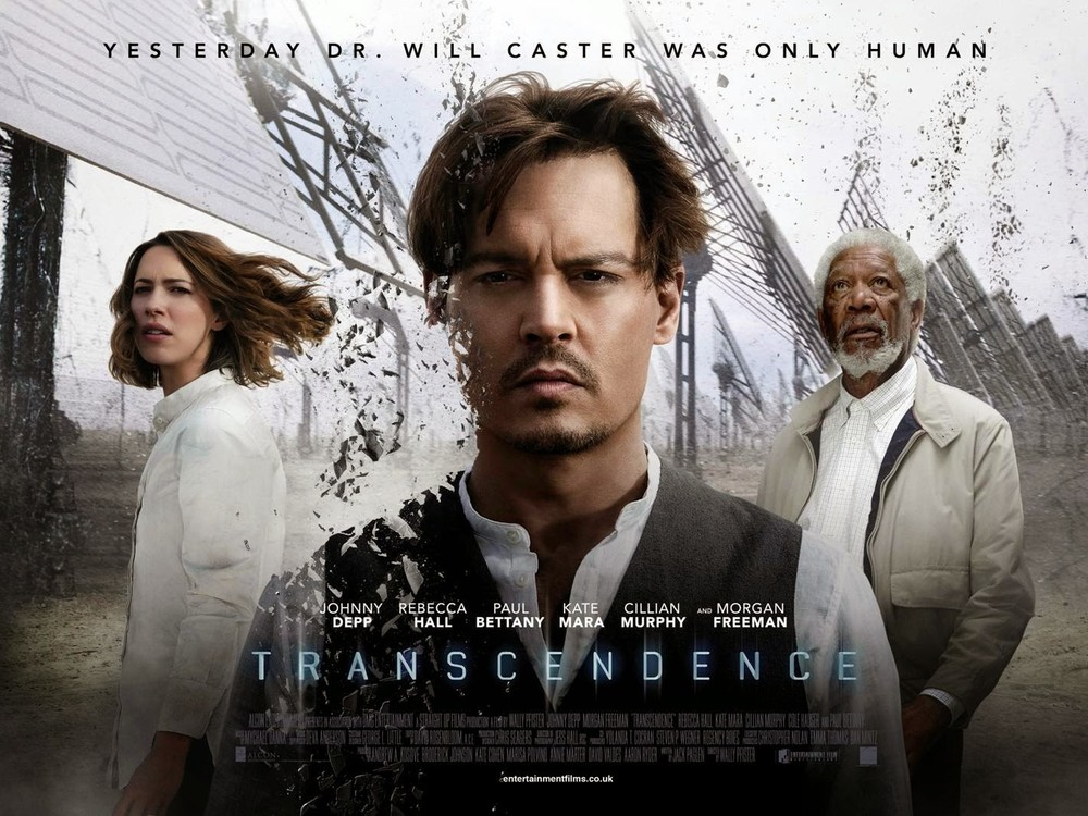 Transcendence,  opening in the UK this week