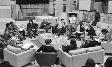 Star Wars Episode VII cast reading