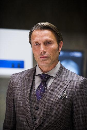 Mads Mikkelsen is Hannibal Lecter