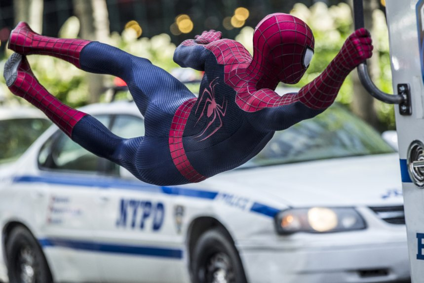 Amazing Spider-Man 2 dominated  the UK Box Office last week
