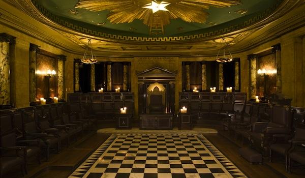 Andaz Liverpool Street's Masonic Temple