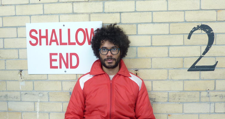 Richard Ayoade, appearing at Somerset House Behind the Scenes