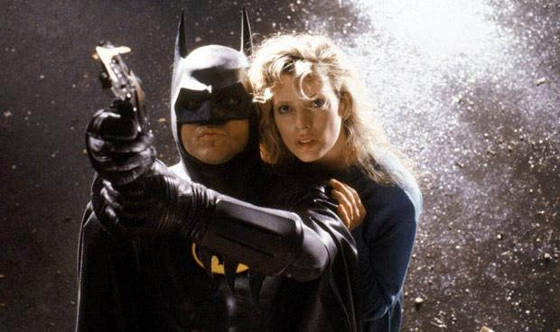 Michael Keaton and Kim Basinger in Tim Burton's  Batman