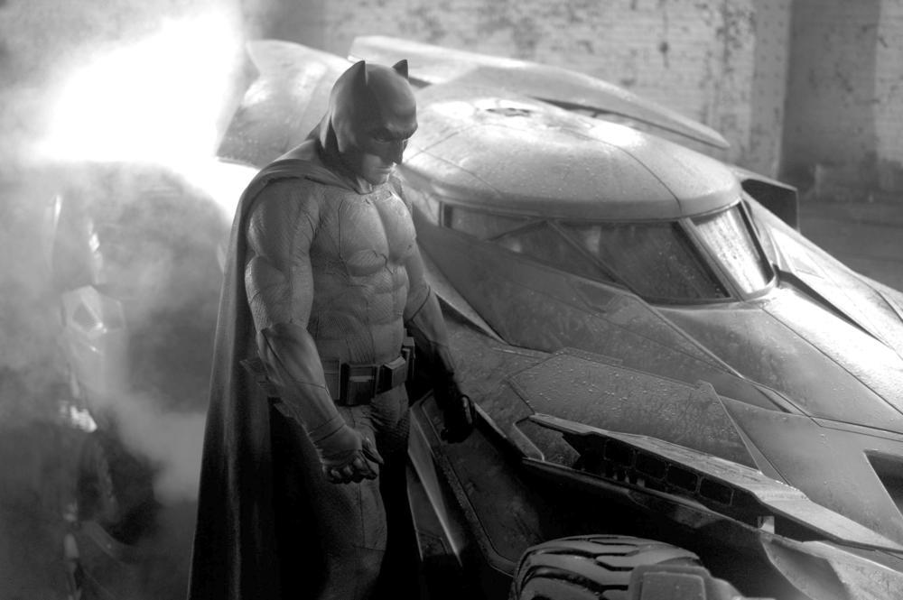Ben Affleck as Batman in Zack Snyder's  Batman V Superman