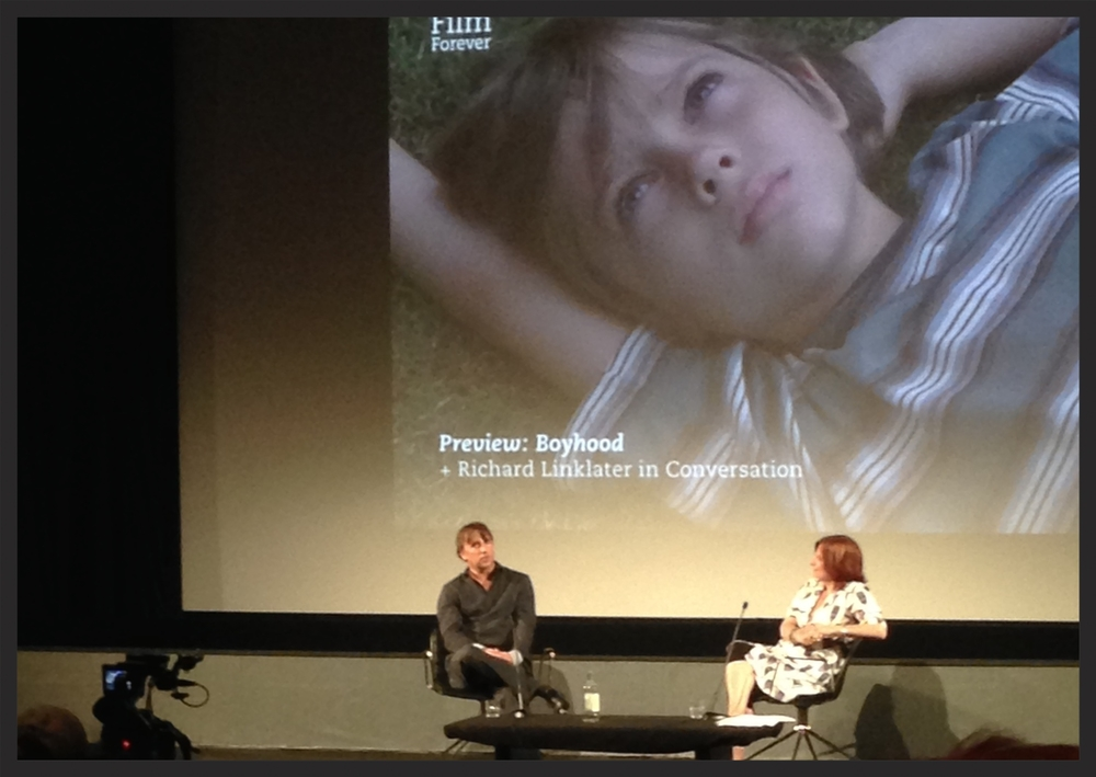 Richard Linklater at the BFI