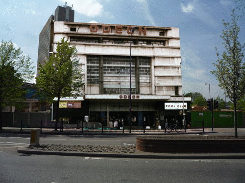 Lewisham's Lost Cinemas blog: Gaumont Palace, 1-5 Loampit Vale. Opened in 1932, later renamed Odeon, closed in 1981 and demolished in 1991. The largest cinema in Lewisham, it initially had 3050 seats.
