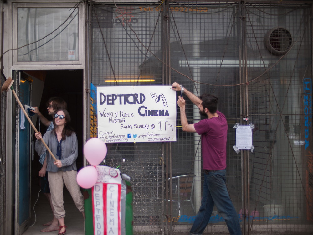 Deptford Cinema is being built in an empty shop at 39 Deptford Broadway, and will be the only cinema in Lewisham if completed on schedule