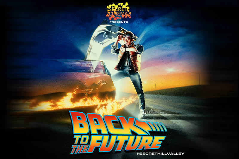 Secret Cinema takes you back to 1955 this week with the opening of their Back to the Future experience