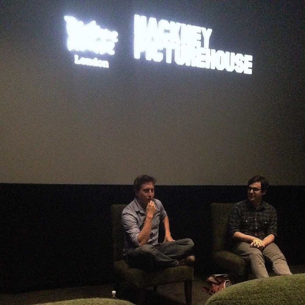 David Gordon Green at the Hackney Picturehouse