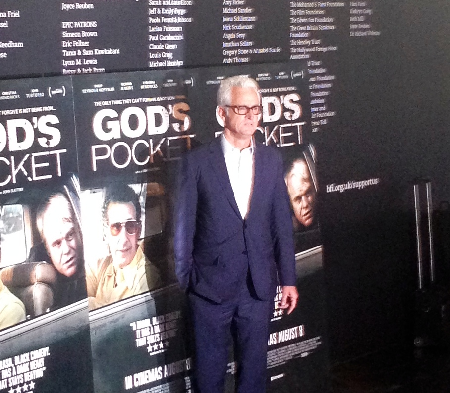 John Slattery at the BFI for the preview of God's Pocket