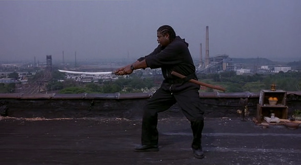 Forest Whitaker is the mysterious, Bushido quoting hitman in Ghost Dog