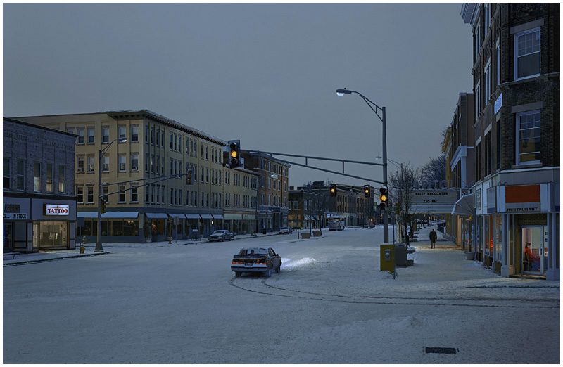 Gregory Crewdson is one of the artists who's work will be explored