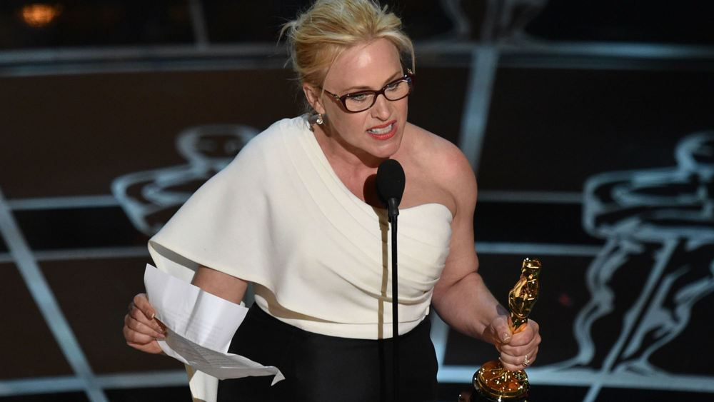 Best Supporting Actress winner Patricia Arquette
