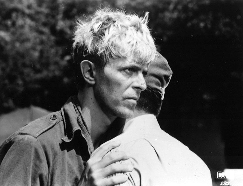 Bowie's role in Merry Christmas Mr Lawrence fully exploited his exotic nature