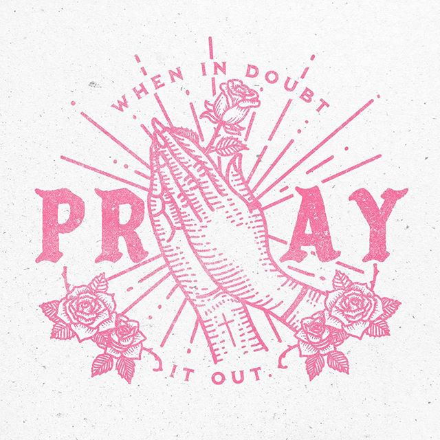 """When in doubt, pray it out."" . I resonate with this stylistically, professionally, and personally. This has been a year of a lot of prayer. Getting into some new territory by creating work that I connect with on every level. I'll try not to give away any spoilers, but swipe left if you want to see this on a model. . Background on the model: He was feeling very sick and was ""c-c-cold."" So I popped off my sweatshirt and let him wear it.  #myboychurch #mombossliving"
